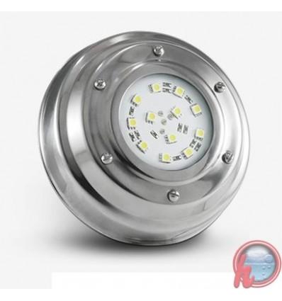 Luminaria subacuatica de acero inox. Blanco Frio 4 W-1 LCI