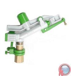 "Aspersor Metálicosectorizable (boquillas 8-10-12 mm) ROSSI R15S -  Rosca:RH 1 1/4"""