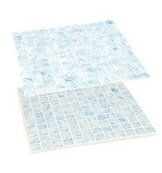 Revestimiento veneciano premium azul y blanco HVZ 3004 MOLAUF
