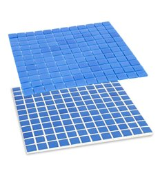 Revestimiento veneciano azul solido HVZ 1038 MOLAUF