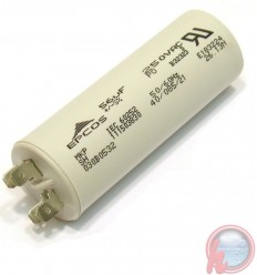 CAPACITOR FAST-ON 400 VCA - 50 mF