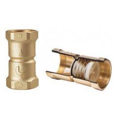 """Valvula de retencion conica de bronce 1"""" LUISE"""