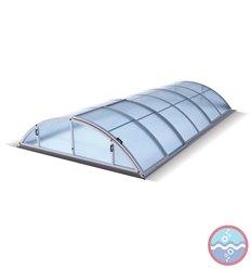 Cubierta telescopica para piscina KLASIK Vulcano